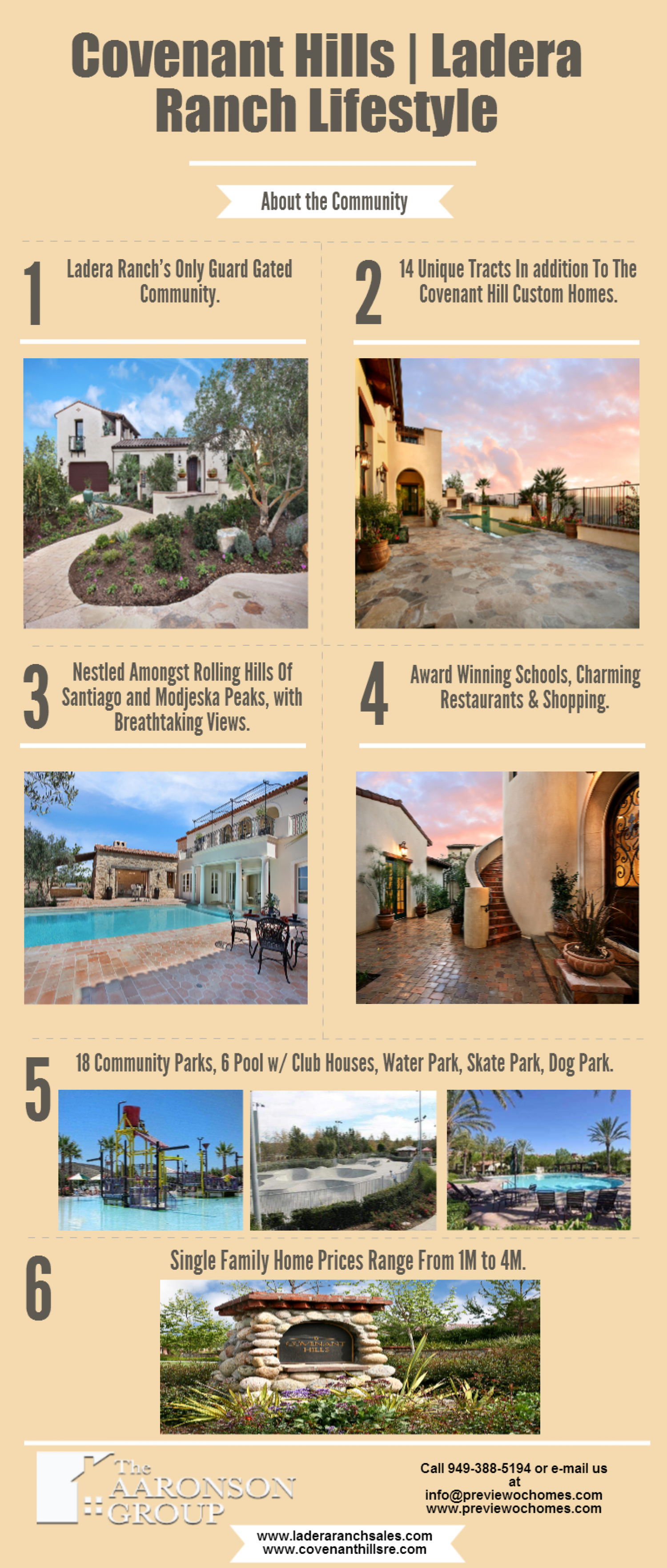 The Grand Life at Covenant Hills Infographic