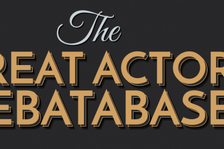 The Great Actor Debatabase Infographic