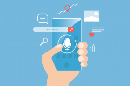 The Growing Role of Voice Search in SEO Infographic