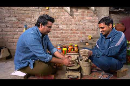 The Gullies of India | Clay Pottery Special at Potters Village New Delhi by Ritesh Rawal Infographic