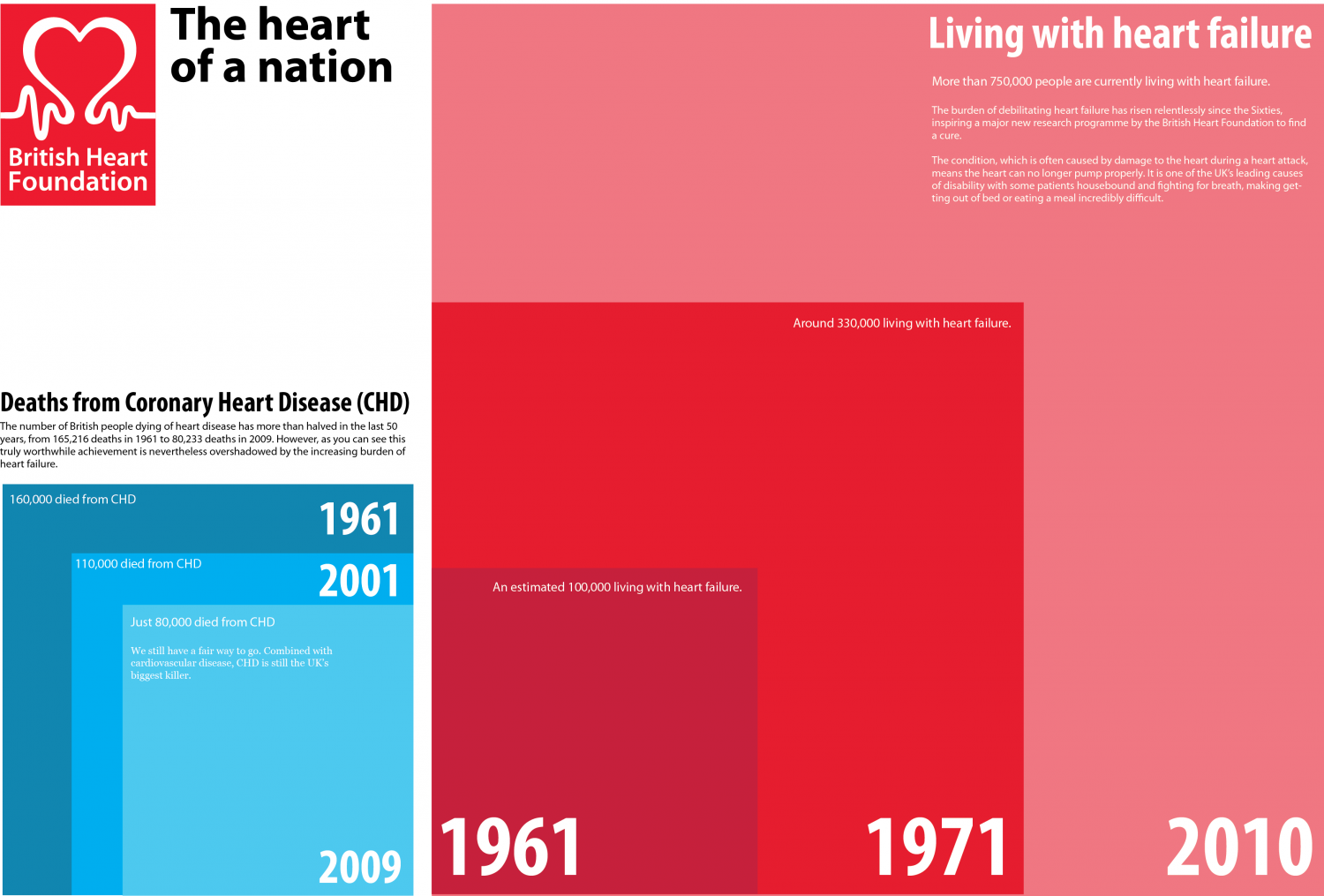 The Heart of a Nation  Infographic