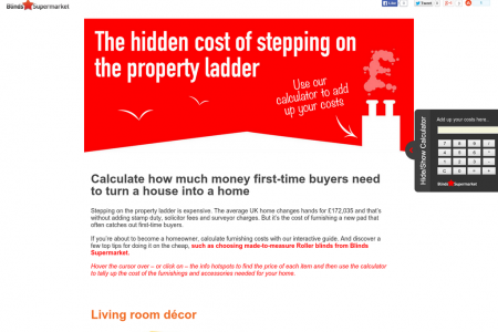 The Hidden Cost of Stepping on the Property Ladder Infographic