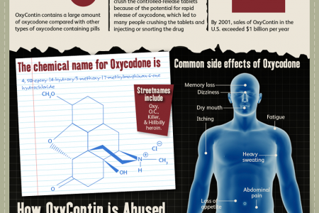 The Highs and Lows of Oxycontin Infographic