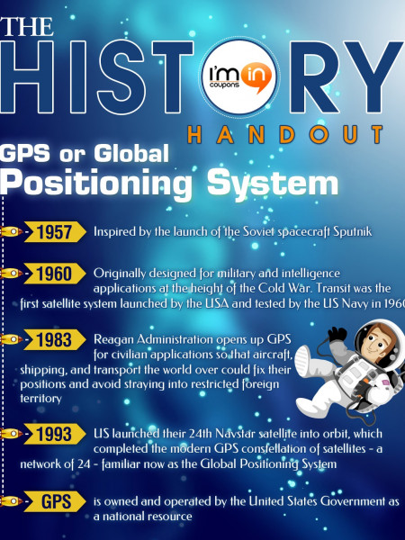 The History Handout - GPS Infographic