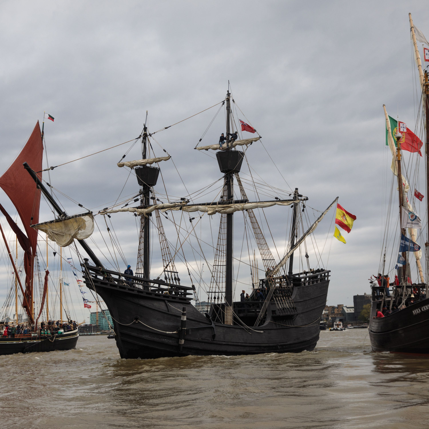 The History of Pirate Ships Infographic