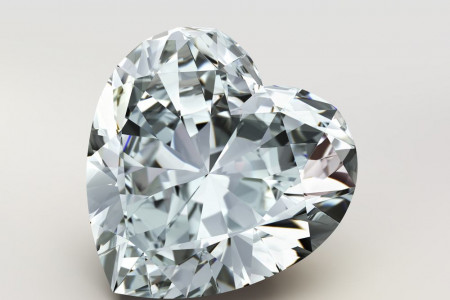 The History of the Heart-Shaped Diamond Cut Infographic