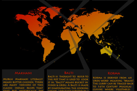 The History Of Your Favourite Curry Infographic