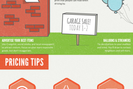 The How-To Guide For Garage Sales Infographic