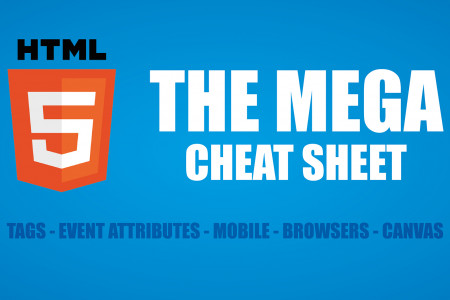 The HTML5 Mega Cheat Sheet Infographic
