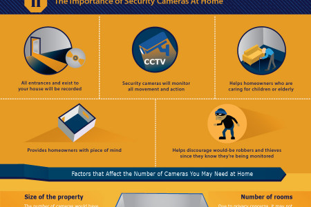 The Importance of Having Security Cameras for Home and Business Infographic
