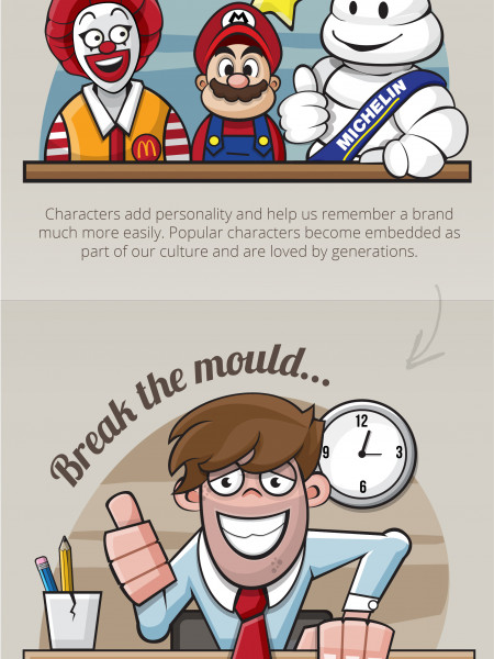 The Benefits of Illustration Infographic