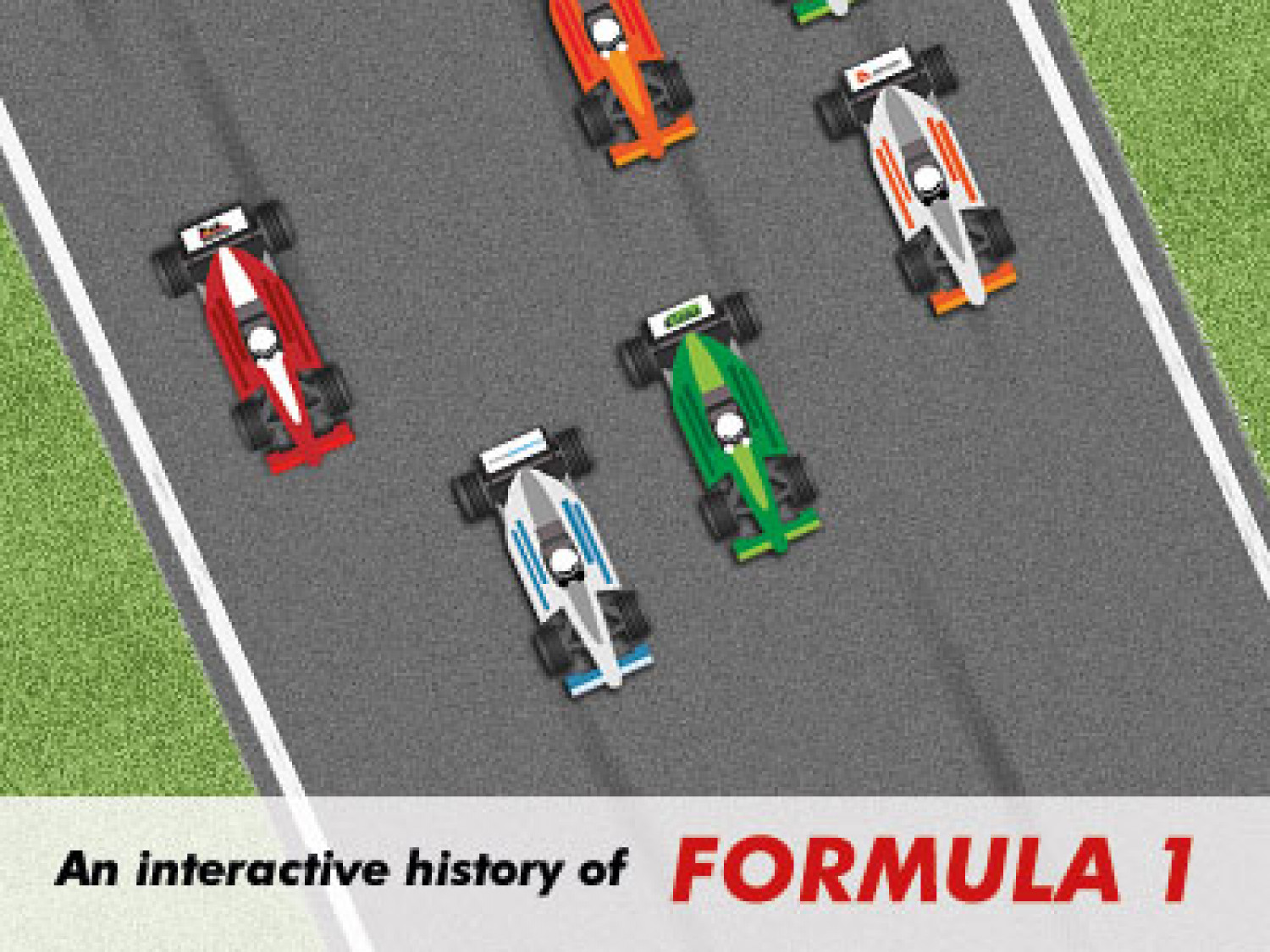 The Interactive History of Formula 1 Infographic