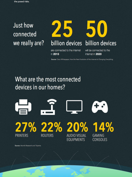 The Internet of Things & Risk Infographic