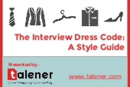 The Interview Dress Code: A Style Guide Infographic