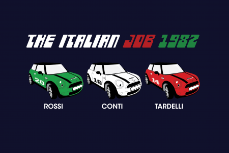 The Italian Job Infographic