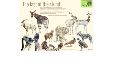 The last of their kind: endangered species in UAE Infographic