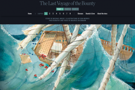The Last Voyage of the Bounty Infographic