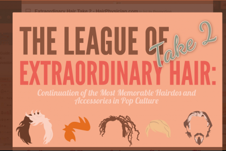 The League of Extraordinary Hair: Take 2 Infographic