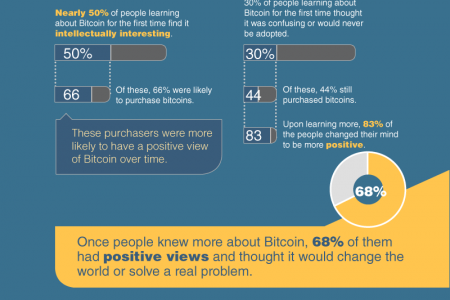 The Learning Curve on Bitcoin Infographic