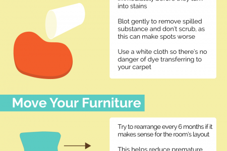 The Lowdown on Having Cleaner Carpets Infographic