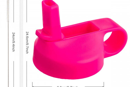 The Mass Wide Mouth Straw Lid Compatibility Most Sports Water Bottle- Price: $12.95  Infographic