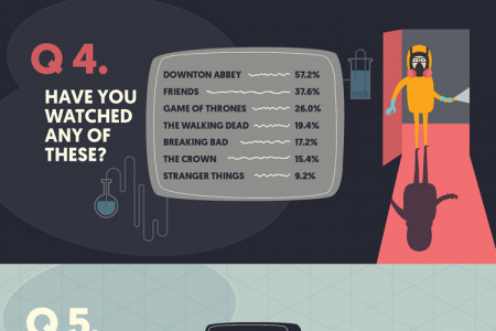 The Mature View: An insight into the viewing habits of the over 60s Infographic