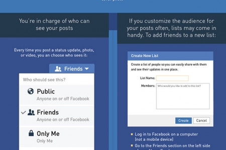 The Most Important Ways to Protect Your Privacy on Facebook Infographic