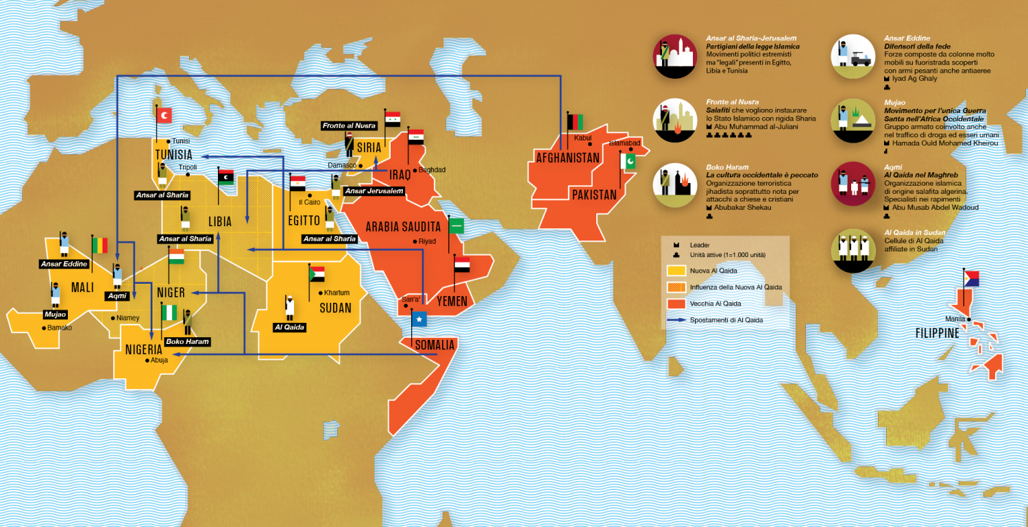 The New Al Qaida  Infographic