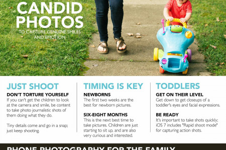 The New Parents' Guide to Mobile Photography Infographic