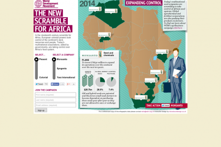 The New Scramble For Africa Infographic