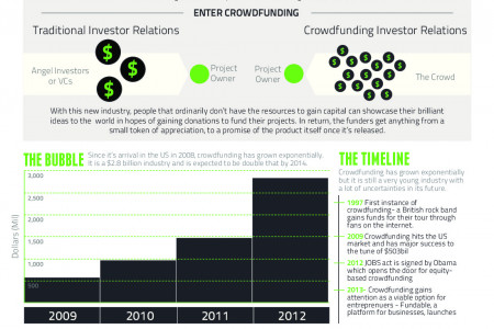 The Next Big Thing: Crowdfunding Infographic
