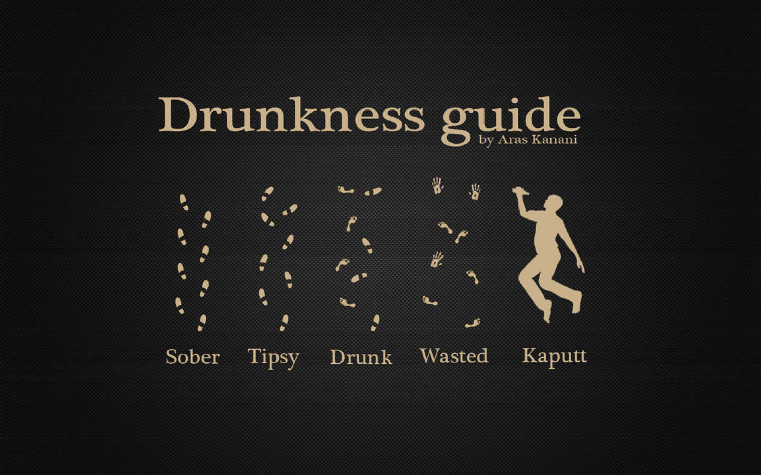 The Official Drunkness Guide Infographic