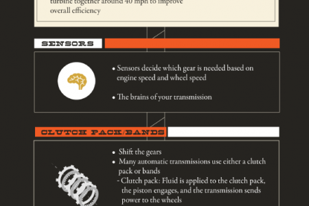 The Parts Inside Your Automatic Transmission Infographic