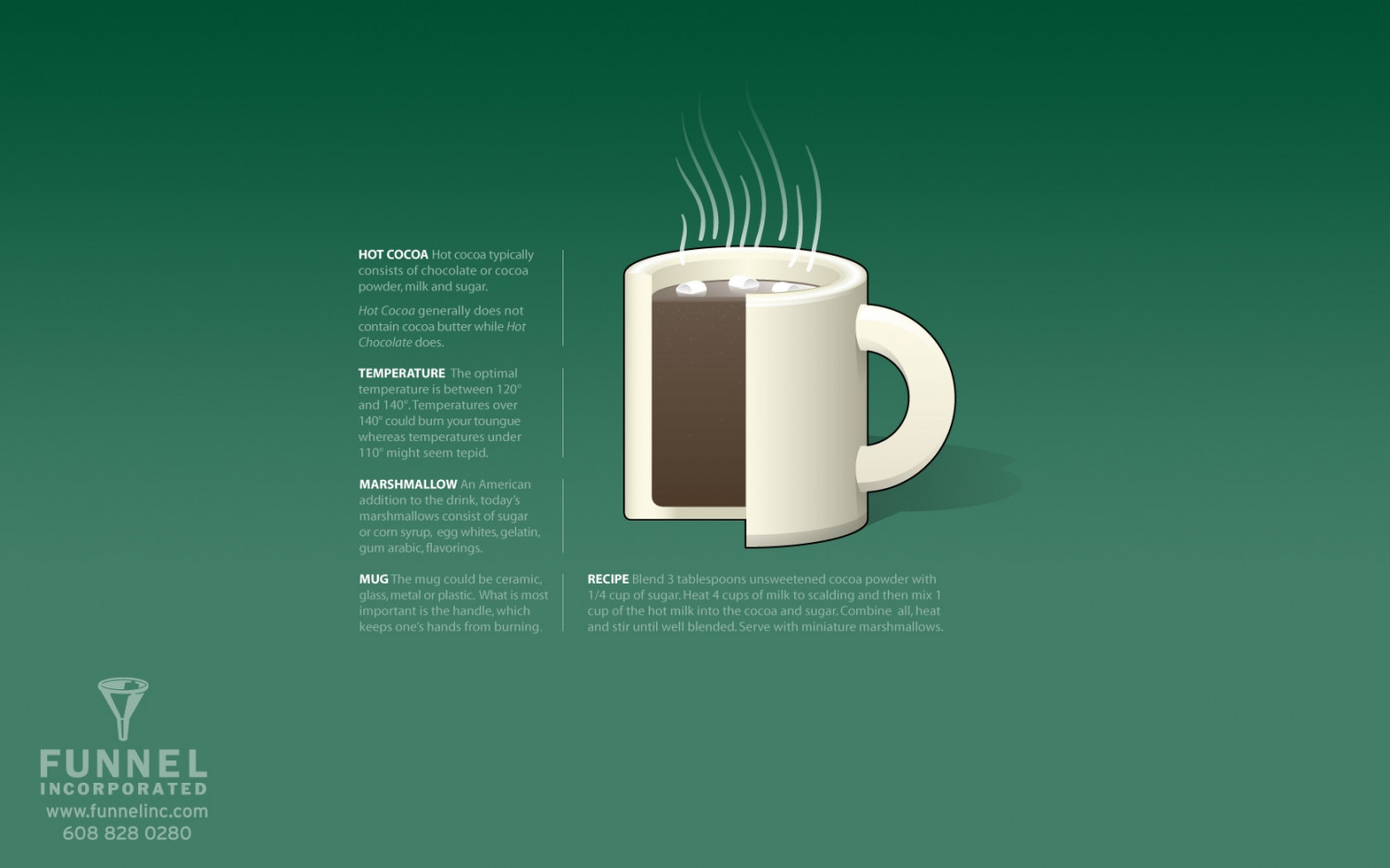 The Perfect Cup of Hot Cocoa Infographic
