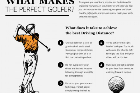 The Perfect Golfer Infographic