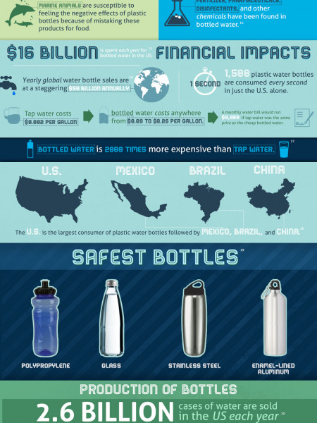 The Plastic Water Bottle Effect Infographic