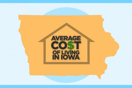 The Price We Pay to Live in Iowa  Infographic