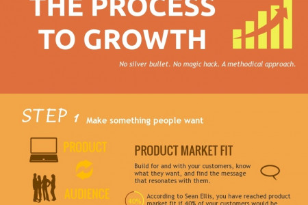 The Process To Growth Infographic