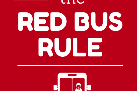 The Red Bus Rule Infographic