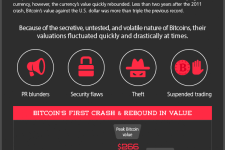 The Rise and Fall and Rise of Bitcoin Infographic