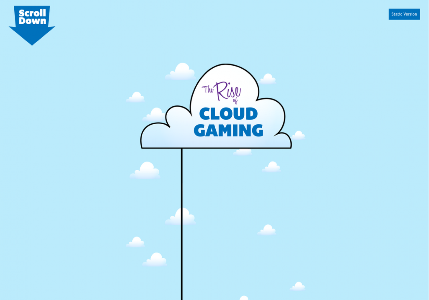The Rise of Cloud Gaming Infographic