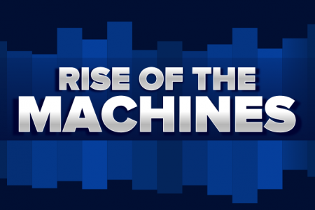 The rise of machines Infographic