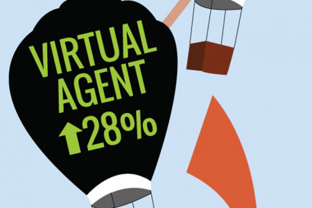 The Rise of the Virtual Agent - How Siri Made VA's A Household Name Infographic