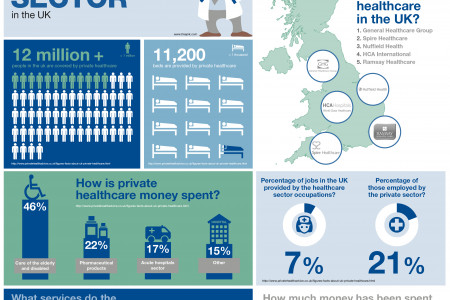 The Role of the Private Healthcare Sector in the UK Infographic