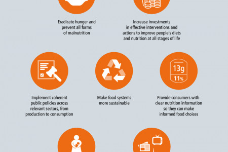 The Rome Declaration on Nutrition Infographic