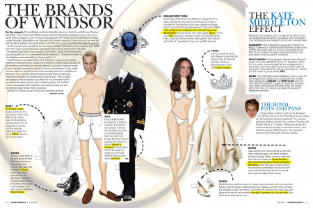 The Royals, The Brands of Windsor Infographic