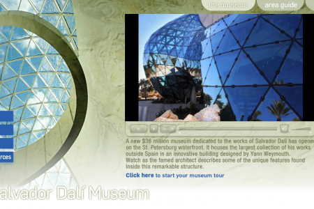 The Salvador Dali Museum Infographic
