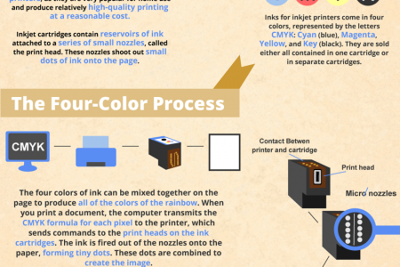 The Science of Printer Ink Cartridges Infographic