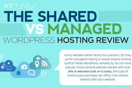 The Shared vs Managed WordPress Hosting Review  Infographic