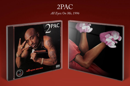 The Shoes Behind the Album: 2Pac Infographic